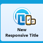 screenshot of New Responsive Title in Lectora 16